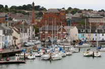 Room from bedroom of Weymouth Harbour